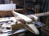Twin Otter 480 nose cone 3d printed In situ