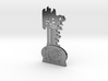 Thir13en Ghosts Brass Key Replica Prop 3d printed
