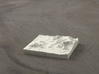 3'' Sedona, Arizona, USA, Sandstone 3d printed Radiance rendering of model, viewed from SSE