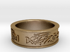 Skyrim ring Dragonborn 3d printed