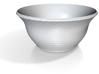twisted red cap soup bowl 2 3d printed