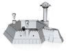 6 Sided Martian Villa With Towers 3d printed 6 sided Fortress with towers