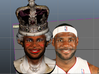 Queen James The Basket Ball Carpet Bagger 3d printed