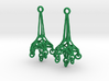 Dangle Earrings 3d printed