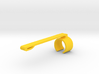 JotClip (for Jot Touch 4 Stylus from Adonit) 3d printed Yellow Strong & Flexible