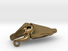 Cuttlefish Pendant (metals) 3d printed