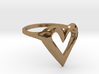 FLYHIGH: Skinny Heart Ring 15mm 3d printed