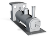 On16.5 colonial style tender loco 1 3d printed