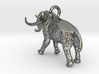 Elephant Charm 3d printed Miniature mammoth ©2012-2014 RareBreed