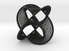 Borromean Rings Seifert Surface (10cm) 3d printed