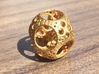 Apollonian Octahedron Mini 3d printed Polished Gold Steel