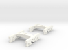 1 Pair of N Scale Standard Irish Railway Bogies 3d printed