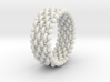 woven ring 3 3d printed