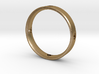 Gold Heart Ring 3d printed