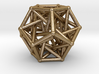 Dodecahedron & 5 tetrahedrons 3d printed
