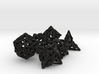 Pinwheel Dice Set 3d printed