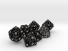 Spore Dice Set with Decader 3d printed