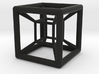 4D Hyper Cube Shadow 3d printed
