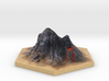 Catan_volcano_hex 3d printed