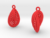 Running in Circles - Earrings (S) 3d printed
