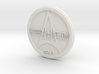 Harber Aircraft logo coin 3d printed