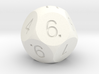 D11 Optimal Sphere Dice 3d printed
