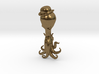Steampunk Octopus in Bowler Hat Pendant 3d printed
