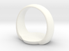 green Lantern ring bigger version 3d printed