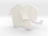 Origami Elephant 3d printed