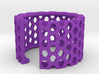 Slim Perforated Honeycomb Ring 3d printed