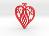 Heart Ornament 3d printed