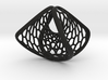 Hexagonal Space Warp | ring 3d printed