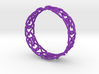 Dilly Design Interlaced Pattern Bangle 3d printed