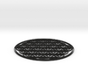 Flower of life table mat 180x3mm 7x0.1inch 3d printed