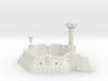 6 Sided Martian Villa With Towers 3d printed