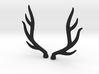 bjd elk deer horns 3d printed