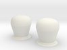 1:96 Medium Set of Domes for Warship 3d printed