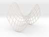 Hyperbolic Paraboloid 3d printed