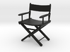 1:24 Director's Chair 1 (Not Full Size) 3d printed