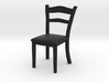 1:39 Scale Model - Chair 01 3d printed
