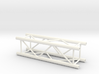 Square truss 1m (1:10 model) 3d printed