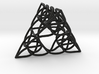 Pascal's Pyramid 4in 3d printed