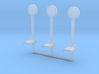 HO-Scale 1950's Penny Scale (3 Pack) 3d printed