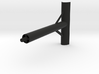 Hang Glider Downtube Bracket Camera Smartphone 3d printed