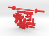 Deadpool Weapon Set for 4 inch Munny 3d printed