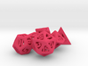 Thoroughly Modern Dice Set 3d printed