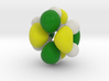 Lowest (degenerate) energy unoccupied pi-MO (HOMO) 3d printed