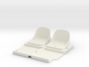 SR40006 Beach Buggy Seats 3d printed
