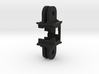 Fatshark 600tvl Camera Holder with GoPro Mount 3d printed