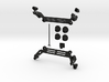 DJI Phantom Foldable Battery Landing Gear 3d printed
